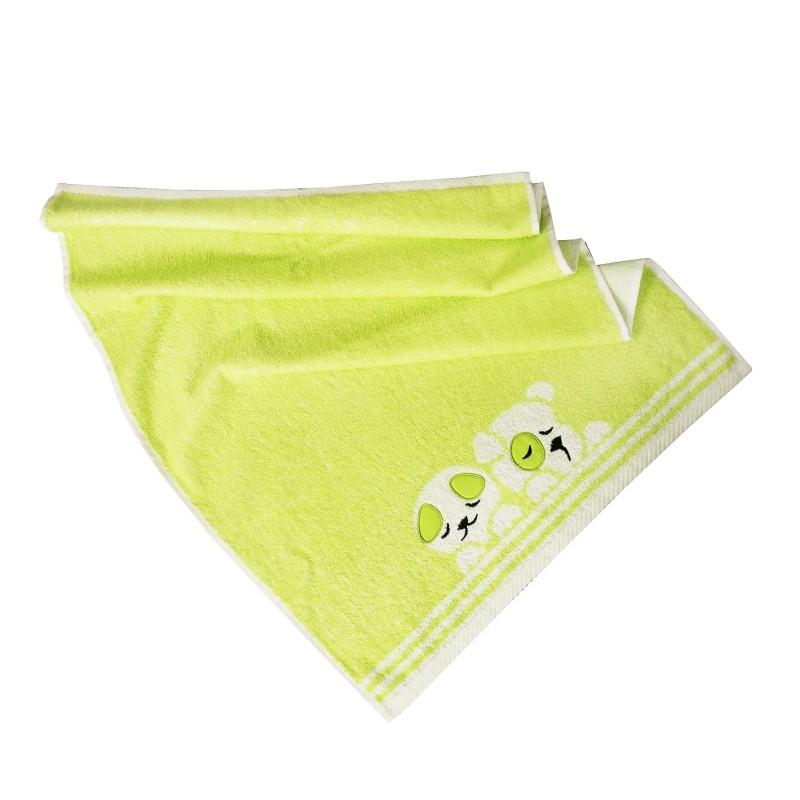 Detský uterák bavlnený Baby zelený
