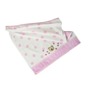 Detský uterák bavlnený Baby ružový