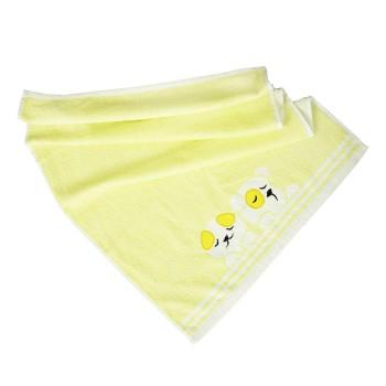 Detský uterák bavlnený Baby žltý