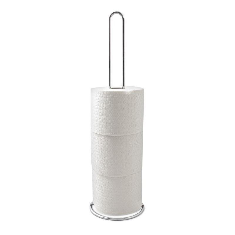 Stojan na toaletný papier chrómový AWD