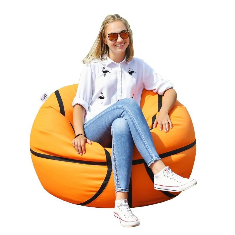 Sedací vak basketbalová lopta EMI