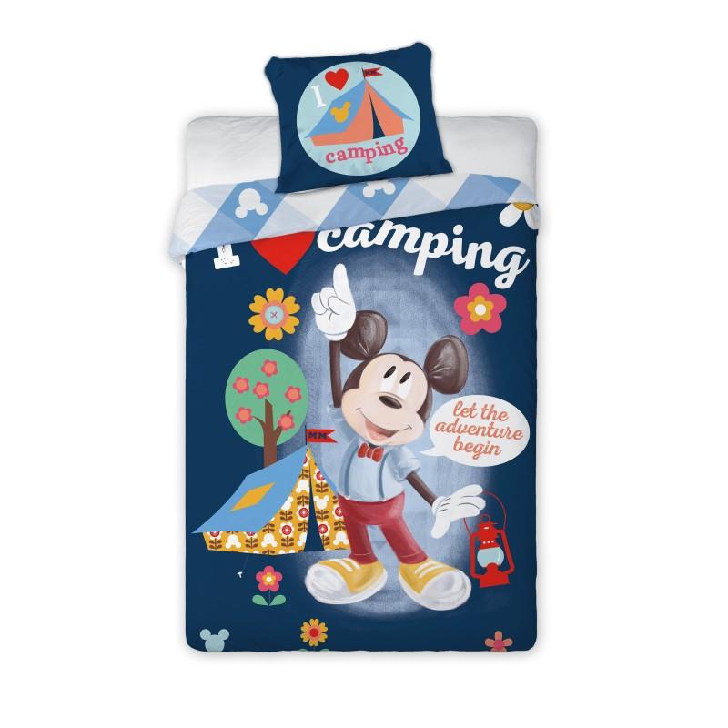 Faro Obliečky Mickey Mouse bavlna 140 x 200 + 70 x 90 cm