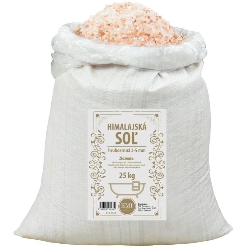 Himalájska soľ 25 kg