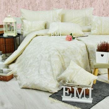 Obliečky bavlnené Royal krémové EMI