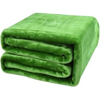 Deka zelená 150 x 200 cm EMI