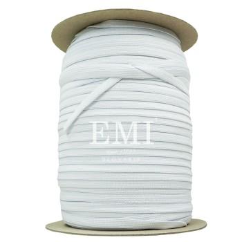Textilná guma prádlová biela šírka 1cm