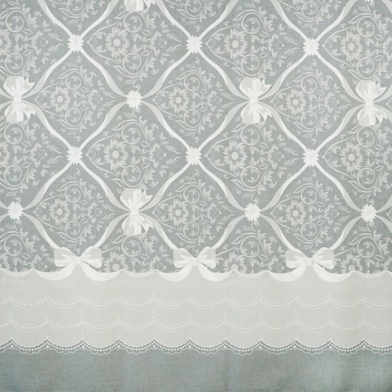 Látka metráž 100% bavlna delux Vintage sivé