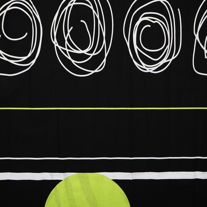 Látka metráž bavlna 100 % Don Split zelené CNM