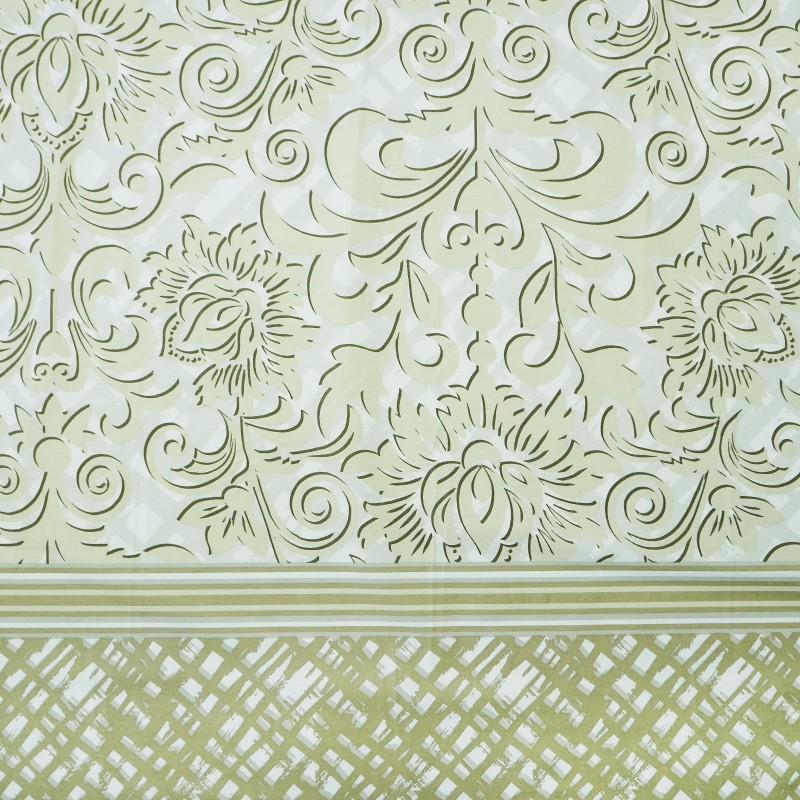 Látka metráž 100% bavlna delux Moser krémové šírka 220 cm