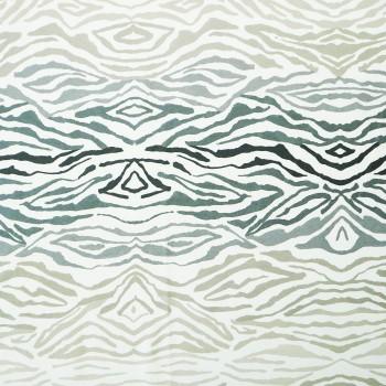 Látka metráž 100% bavlna delux Savana sivé šírka 220 cm