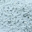gombík mangľovací plastový biely