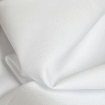 Látka metráž bavlna 100% biela