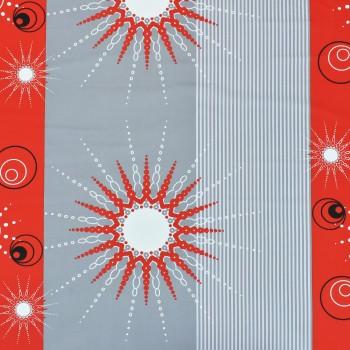 Látka metráž 100% bavlna delux Tilia červené