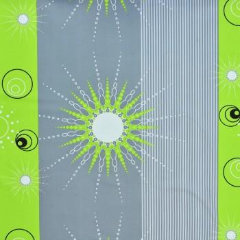 Látka metráž 100% bavlna delux Tilia zelené