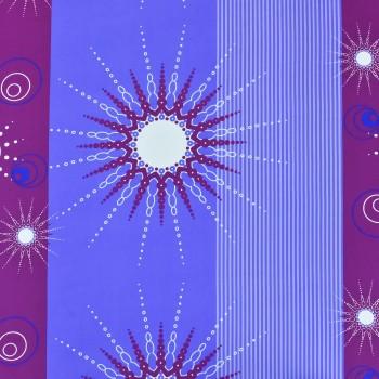 Látka metráž 100% bavlna delux Tilia fialové