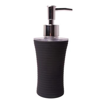 Dávkovač tekutého mydla čierny Gom
