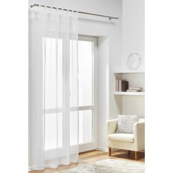 Záclona Diana 140 x 245 cm biela