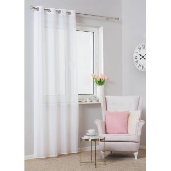Záclona Migot 140 x 250 cm biela