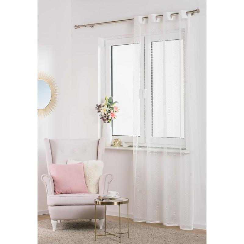 Záclona Net 140 x 250 cm biela