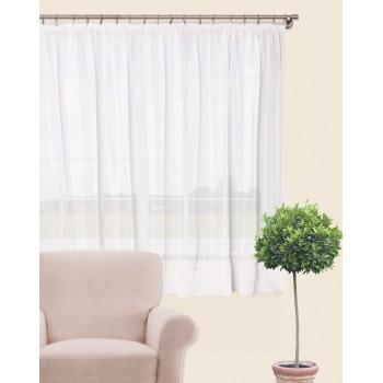 Záclona Winter 300 x 160 cm biela