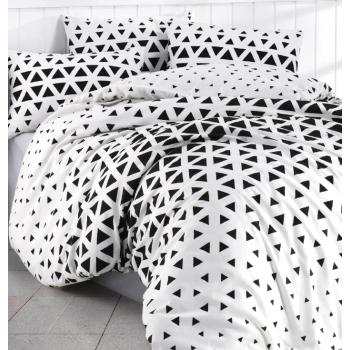 Obliečky Dubai bielo-čierne EMI