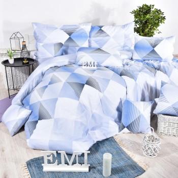Obliečky bavlnené Easy modré EMI