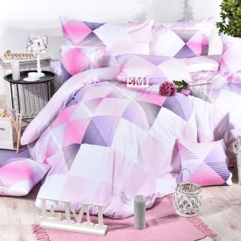 Obliečky bavlnené Easy ružové EMI