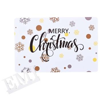 Podložka pod tanier Merry Christmas