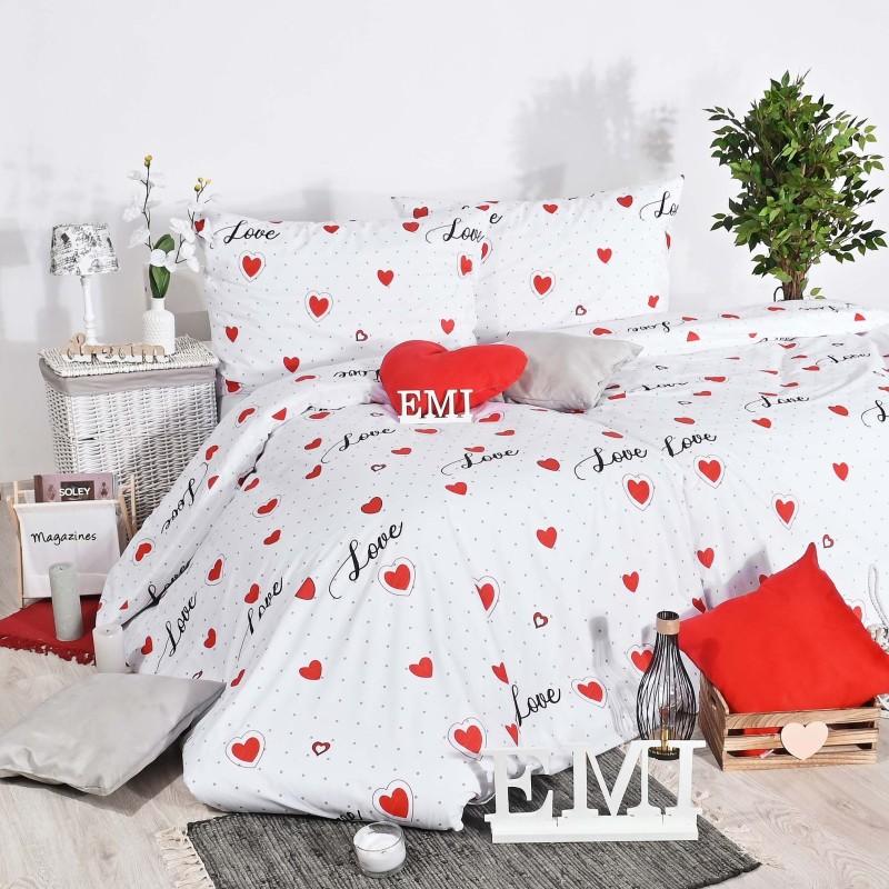 Obliečky bavlnené Love EMI
