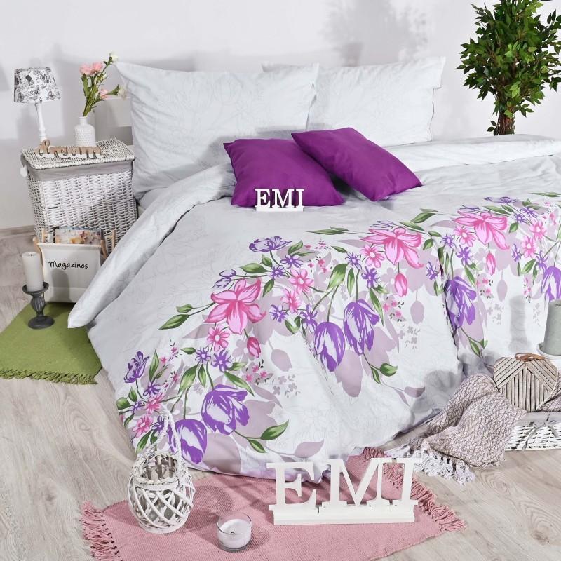 Obliečky bavlnené Kiara ružové EMI