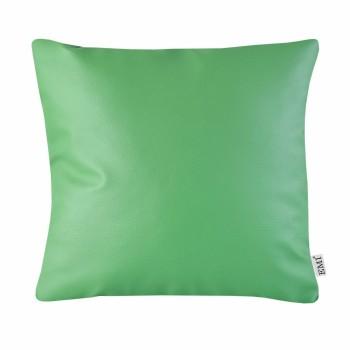Vankúš 40x40 zelený ekokoža EMI
