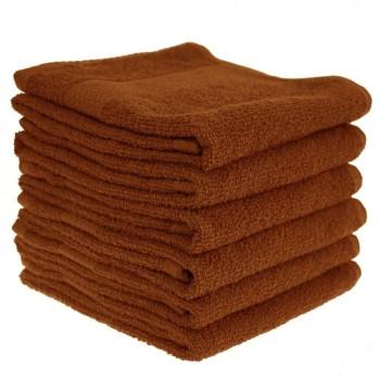 Detský uterák bavlnený 30x50 cm škoricový EMI