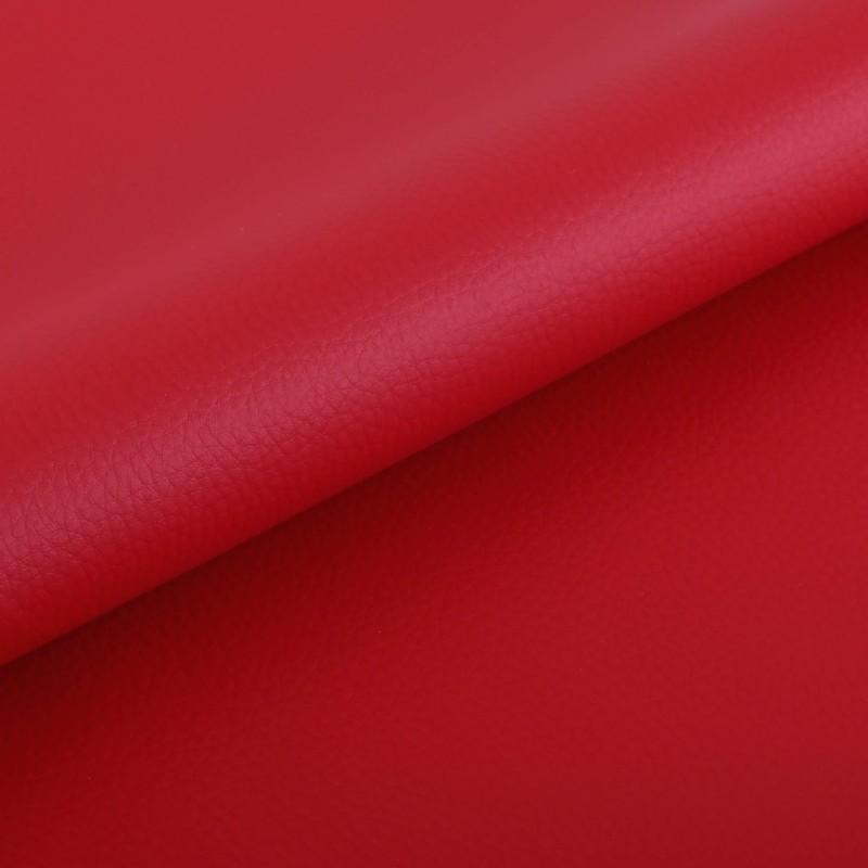 Metráž ekokoža červená EMI