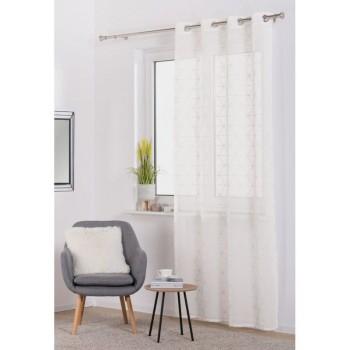 Záclona Prizma 140 x 260 cm biela