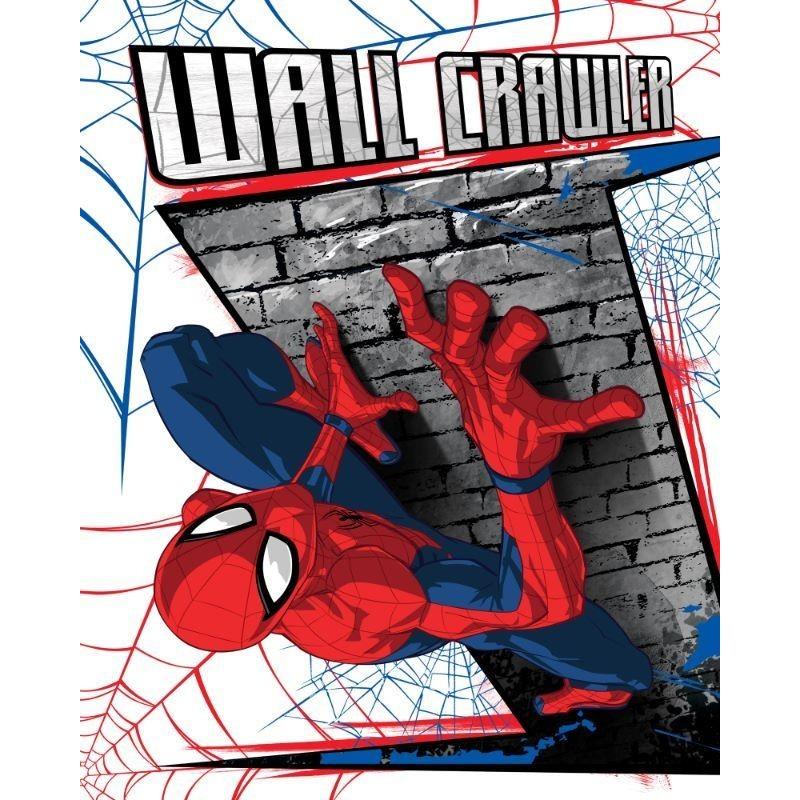 Deka fleecová Spiderman 130x170 cm FARO