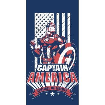 Osuška detská Avengers Captain America 70x140 cm FARO