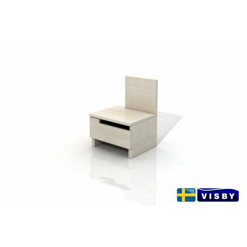Nočný stolík borovicový Bergman - Visby