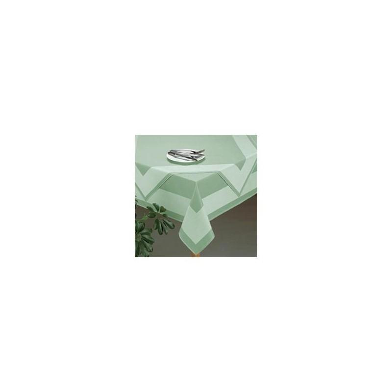 Obrus damaškový zelený 50x50 cm