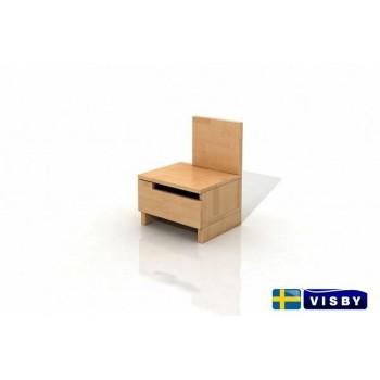Nočný stolík bukový Bergman - Visby