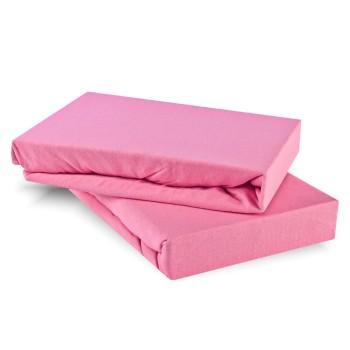 Plachta posteľná ružová jersey EMI
