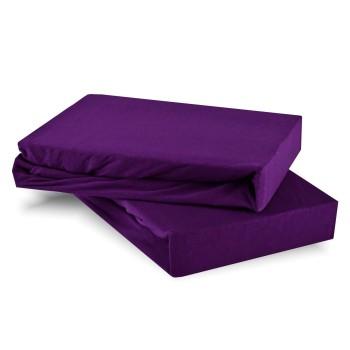 Plachta posteľná fialová jersey EMI