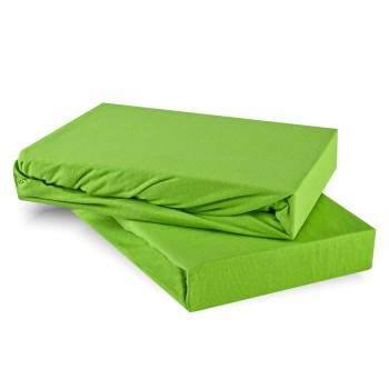 Plachta posteľná zelená jersey EMI