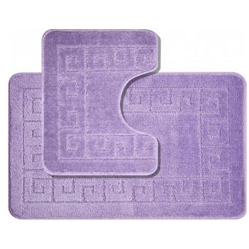 Kúpeľňové predložky set 2 kusov Esme fialové