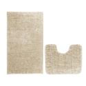 Kúpeľňové predložky set 2 kusov Lucida béžové EMI