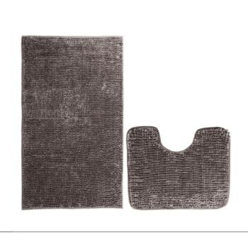 Kúpeľňové predložky set 2 kusov Brynn hnedé EMI