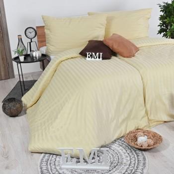 Obliečky damaškové vanilkové EMI