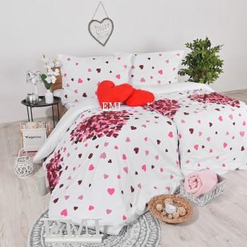 posteľné obliečky ružové