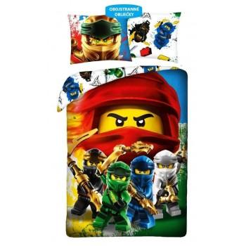 Detské obliečky Lego Ninjago 140 x 200 + 70 x 90 cm