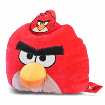 Dekoratívny vankúš Angry Birds červený