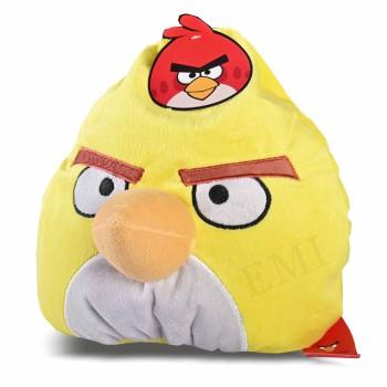 Dekoratívny vankúš Angry Birds žltý